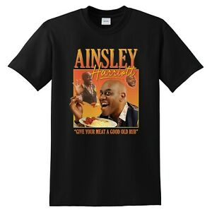Ainsley Harriott Homage T-shirt Funny UK Gift Cook Meme Tribute UK TV 90's Icon