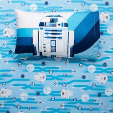 Star Wars Twin Size Microfiber Sheet Set, Retail $49.99