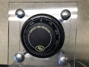 "Sargent Greenleaf 6730 Gun Safe Lock - Used - Great Shape S&G - 2 7/8"" Door"