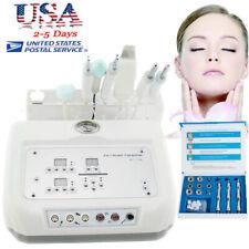 4 In 1 Microcurrent Diamond Micro Dermabrasion Ultrasound Skin Scrubber Machine!