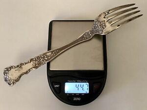 "Sterling Silver 925 Gorham ""Buttercup"" Dinner Fork 7"" 44.7 gram Scrap Or Repair"
