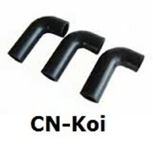 Manifold 1 Rubber Elbow including 2 clips - variations available