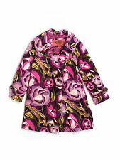 Toddler Girl Missoni for Target Jacket Trench Coat Flowers Purple Size XL 4T 5T