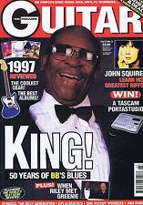BB KING / JOHN SQUIRE / PETER GREENGuitar MagazineChristmas1997