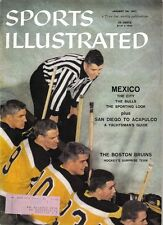 1957 (1/28),Sports Illustrated, Hockey,magazine, Boston Bruins