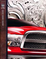 2012 Dodge Ram 1500 Truck 30-page Original Sales Brochure