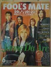 Fool's Mate No.284 06/2005 Jrock Jpop Visual Kei Diru Despa Gackt Laruku RAR
