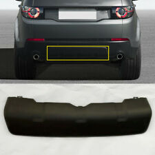 Rear Bumper Cover Black Trim Skid Plate Fit For 16-19 Land Rover Discovery Sport