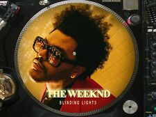 """The Weeknd - Blinding Lights Rare 12"""" Picture Disc Promo Single LP (The Best CD)"""
