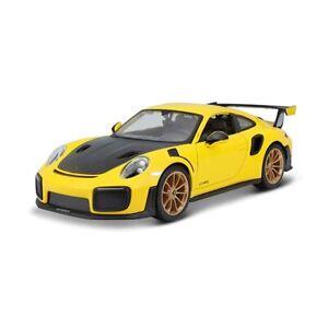 Maisto Die cast detailed model Porsche 911 GT2 RS 1:24 Car special edition