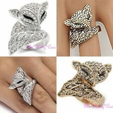 Animals & Insects Alloy Statement Costume Rings