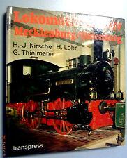 Lokomotiv-Archiv Mecklenburg/Oldenburg   /transpress 1. Auflage 1989 DDR