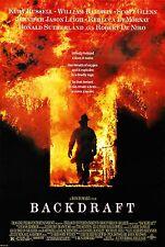 BACKDRAFT (1991) ORIGINAL MOVIE POSTER  -  ROLLED