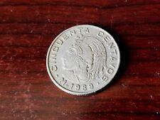 Mexico, 50 Centavos, 1969