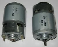 2 X Johnson Electric 24V Motor - High Torque - 6650 RPM - 650 Series Large Motor