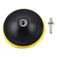 5 Polishing Sander Backer Plate Napping Hook Loop Sanding Disc Pad Accessory