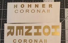 Hohner Corona II Decal Sticker