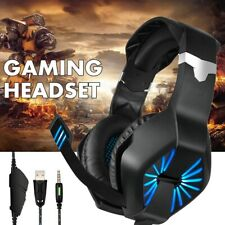 PC Gaming Headset bluetooth Stereo Wireless Over Ear Headphones Gaming Headset