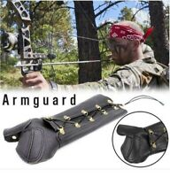 Archery Left Hand and Arm Together Guard Finger Protection Hunting for Bow B