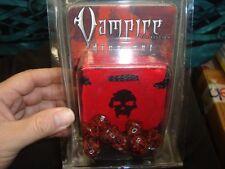 NEW Vampire the Requiem Dice Set White Wolf 2004 RPG World of Darkness