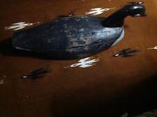 Antique Canada Canadian Goose Decoy OLD Folk Art Primitive 1920's Maine Swimmer
