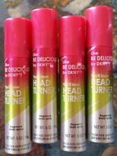 """(4) Designer Imposters BE DELICIOUS DKNY  You'll Love """"HEAD TURNER"""" Body Spray"""