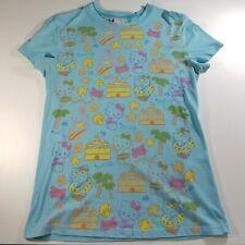 2005 MIGHTY FINE Sanrio Hello Kitty Graphic t-shirt top Juniors LARGE beach