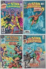 The Young All-Stars & All-Star Squadron LOT (32) VF Shazam DC 1984-89 Starman
