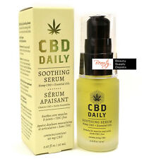 Hemp Oil Supplement Daily Soothing Serum THC Free by Earthly Body - CBD DAILY-