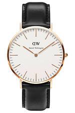 Daniel Wellington Watch Classic Sheffield 40mm Leather Rose Gold 0107DW