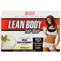 Labrada Nutrition  Lean Body for Her  Hi-Protein Meal Replacement Shake  Vanilla