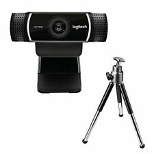 Logitech C922 Pro Stream HD Webcam - Black (960-001088)