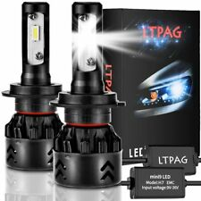 2 x Lampadine LED per auto H7 per abbaglianti e anabbaglianti, Luce bianca