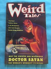 Weird Tales. August, 1935 - Excellent Copy