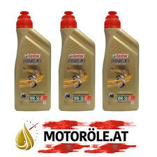 3x1 Liter CASTROL Power 1 Racing 4T 10W-50 Motoröl, API SL - JASO MA-2