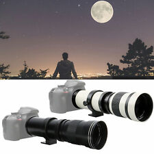 420‑800mm Super Telephoto Zoom Lens with 2X Teleconverter fit for Nikon F Mount
