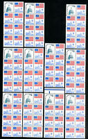 US Stamps # 1623dc Lot of 10 panes NH Scott Value $175.00