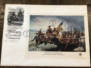 US FDC 1976 REVOLUTION WAR PAINTINGS INTERPHIL 76-ARTCRAFT mint!