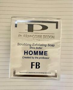 Pr Francoise Bedon Exfoliating Soap Shea Butter Homme * New & Original*