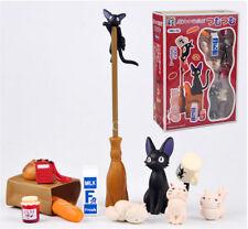 Anime Kiki la petite sorcière Noir Chat Kiki Ensemble PVC Figure Figurine