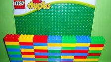 Lego Duplo 260 Bausteine 4er-8er Noppen Gebraucht+Große Bauplatte Grün Neu