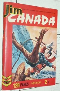 PETIT FORMAT IMPERIA JIM CANADA N°201 1975 SERGENT POLICE MONTEE TUNIQUES ROUGES