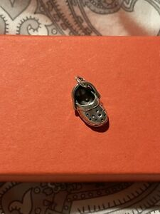 James Avery Retired Croc Charm Sterling Silver