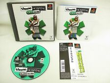 PS1 THEME HOSPITAL with SPINE Card * Playstation Import Japan Game p1
