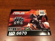 ASUS AMD Radeon HD6670 2GB DDR3  - Brand new