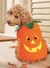 Halloween Pumpkin Pet Costume Dog Cat Medium Size NEW