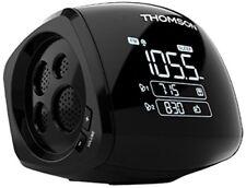 Thomson CP280 Radio Sveglia con Proiettore e Doppia Allarme FM Nero Originale