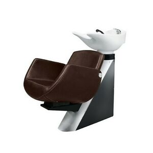 Comair Washing Area Zurich Chair Braun, Basin White