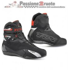 Scarpe moto Tcx Rush WP nero misura 46 black shoes waterproof impermeabili