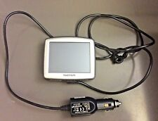 TomTom One Automobile GPS Portable Touchscreen Navigation w/ Car Charger Cable